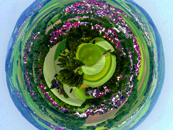 Little Planet Bild Bretzfeld
